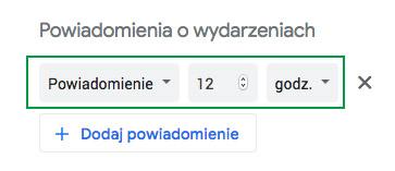 instrukcja dodania kalendarza ZGK do Google