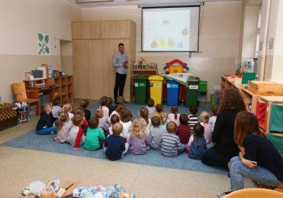 Uczymy dzieci jak segregować odpady w Suchym Lesie